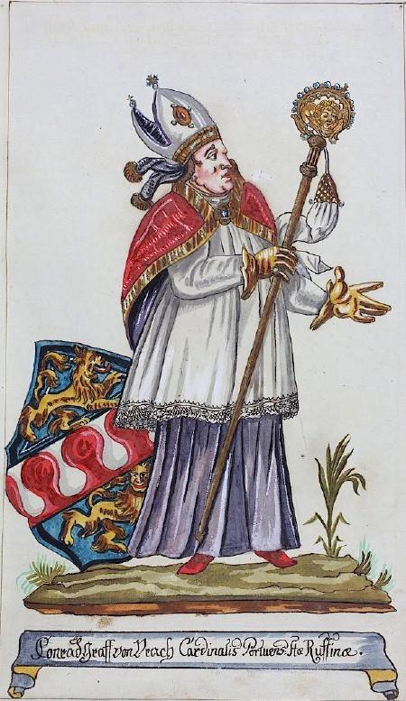 2. 1220-1340 Conrad d'Ulrach