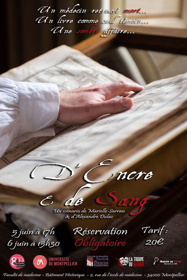 D'Encre et de Sang – COVER