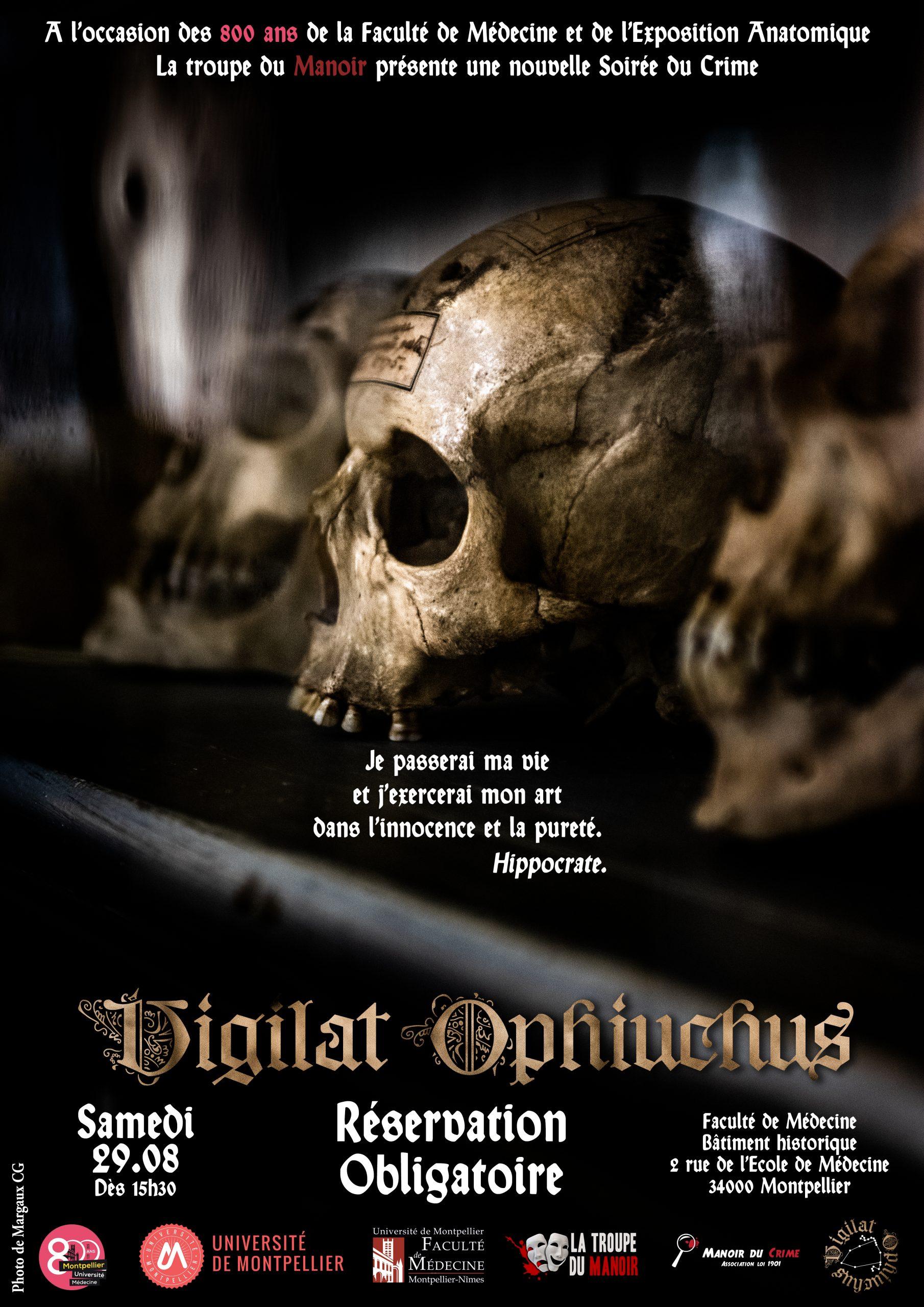 Soirée du Crime – Vigilat Ophiuchus
